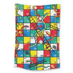 Snakes And Ladders Large Tapestry