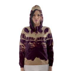 Indian Hooded Wind Breaker (women) by BangZart