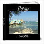 Belize - Mom - 8x8 Photo Book (20 pages)