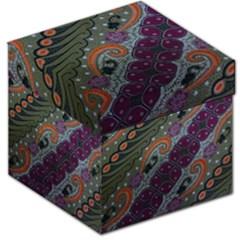 Batik Art Pattern  Storage Stool 12