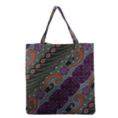 Batik Art Pattern  Grocery Tote Bag
