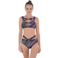 Batik Art Pattern  Bandaged Up Bikini Set