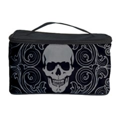 Dark Horror Skulls Pattern Cosmetic Storage Case
