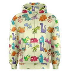 Group Of Funny Dinosaurs Graphic Men s Zipper Hoodie