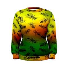 Insect Pattern Women s Sweatshirt
