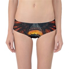 Dragon Legend Art Fire Digital Fantasy Classic Bikini Bottoms