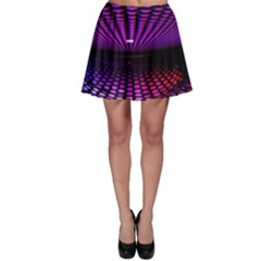 Glass Ball Texture Abstract Skater Skirt