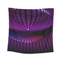Glass Ball Texture Abstract Square Tapestry (small)