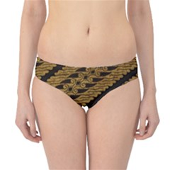 Traditional Art Indonesian Batik Hipster Bikini Bottoms