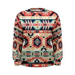 Aztec Pattern Women s Sweatshirt
