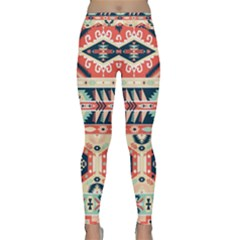 Aztec Pattern Classic Yoga Leggings