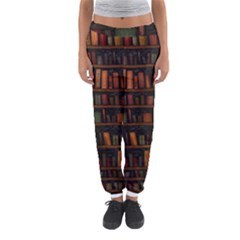 Books Library Women s Jogger Sweatpants