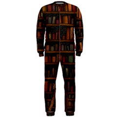 Books Library Onepiece Jumpsuit (men)