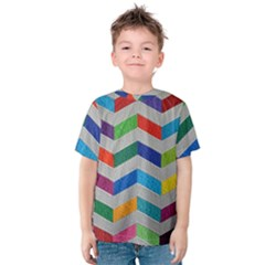 Charming Chevrons Quilt Kids  Cotton Tee