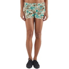 Telegramme Yoga Shorts
