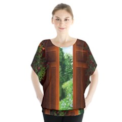Beautiful World Entry Door Fantasy Blouse