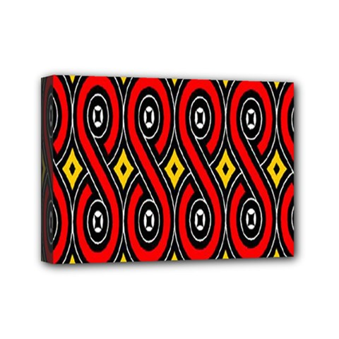 Toraja Traditional Art Pattern Mini Canvas 7  X 5