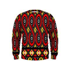 Toraja Traditional Art Pattern Kids  Sweatshirt