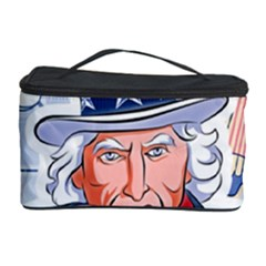 Independence Day United States Of America Cosmetic Storage Case