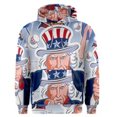 Independence Day United States Of America Men s Pullover Hoodie