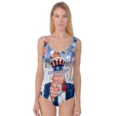 Independence Day United States Of America Princess Tank Leotard