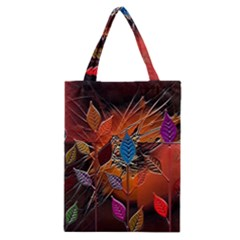 Colorful Leaves Classic Tote Bag by BangZart