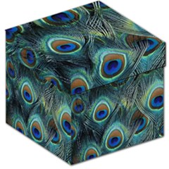 Feathers Art Peacock Sheets Patterns Storage Stool 12   by BangZart
