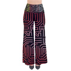 Circuit Board Seamless Patterns Set Pants