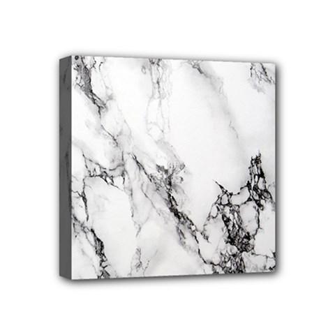 Marble Pattern Mini Canvas 4  X 4