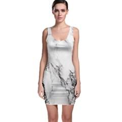 Marble Pattern Bodycon Dress