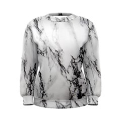 Marble Pattern Women s Sweatshirt