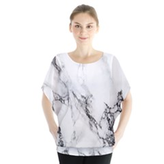 Marble Pattern Blouse