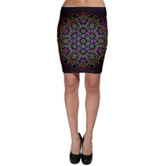 The Flower Of Life Bodycon Skirt by BangZart