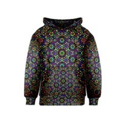 The Flower Of Life Kids  Pullover Hoodie