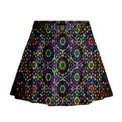 The Flower Of Life Mini Flare Skirt