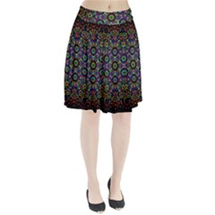 The Flower Of Life Pleated Skirt