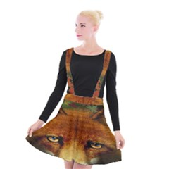 Fox Suspender Skater Skirt