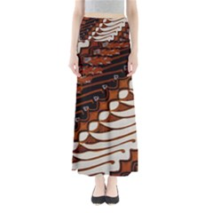 Traditional Batik Sarong Full Length Maxi Skirt