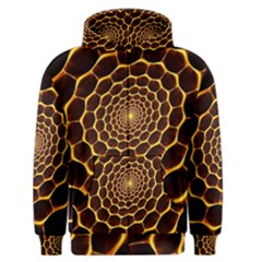 Honeycomb Art Men s Zipper Hoodie