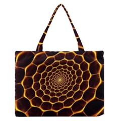 Honeycomb Art Medium Zipper Tote Bag