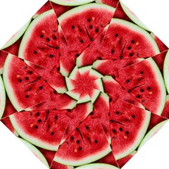 Fresh Watermelon Slices Texture Folding Umbrellas