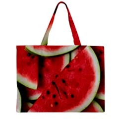 Fresh Watermelon Slices Texture Medium Tote Bag by BangZart