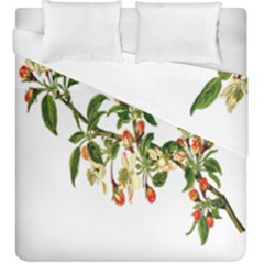 Apple Branch Deciduous Fruit Duvet Cover Double Side (king Size)
