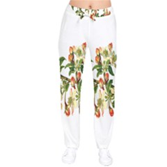 Apple Branch Deciduous Fruit Drawstring Pants