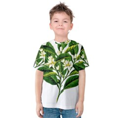 Bitter Branch Citrus Edible Floral Kids  Cotton Tee