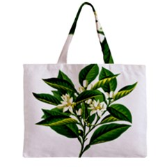 Bitter Branch Citrus Edible Floral Zipper Mini Tote Bag
