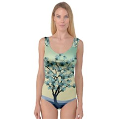 Branches Field Flora Forest Fruits Princess Tank Leotard