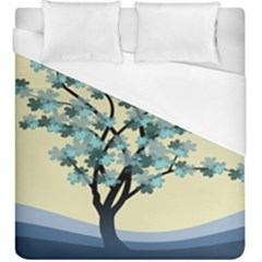 Branches Field Flora Forest Fruits Duvet Cover (king Size)