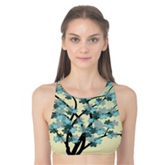 Branches Field Flora Forest Fruits Tank Bikini Top