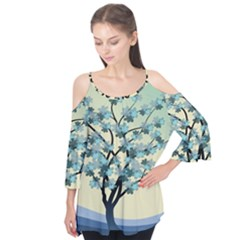 Branches Field Flora Forest Fruits Flutter Tees